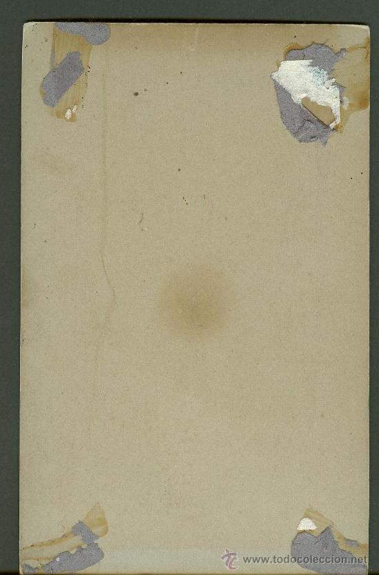 Fotografía antigua: FOTOGRAFIA ANTIGUA retrato de unos jovenes formato cdv. entre 1900-1920 - Foto 2 - 27574589