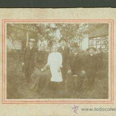 Fotografía antigua - FOTOGRAFIA ANTIGUA retrato familiar formato cdv. siglo xix - 27575658