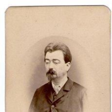 Fotografía antigua - retrato de hombre cdv, foto: pascual y jofré, blanes. - 27853467