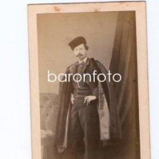 Fotografía antigua: PERSONAJE POR IDENTIFICAR, FOTO: KEN, PARÍS. ÁLBUM DE J. PUIG LLAGOSTERA.. Lote 29435817