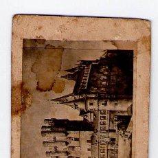 Fotografía antigua: SEGOVIA, FOTO: J.P.GALIANO, SEGOVIA. DEDICADA DEL 1862.. Lote 30377535
