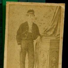 Fotografía antigua: TARRAGONA - 1870-80 - RETRATO . Lote 30937587