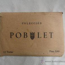 Fotografía antigua: ANTIGUOS RECUERDOS FOTOGRAFICOS DE POBLET.. Lote 31955087