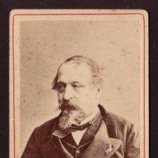 Fotografía antigua: CA. 1860 EMPERADOR NAPOLEON III (1808-1873) LOUIS-NAPOLÉON BONAPARTE. Lote 32003731