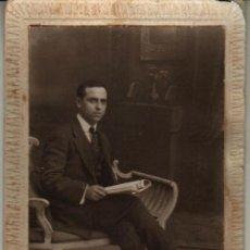 Fotografía antigua: 1917 VALENCIA.ANTIGUA FOTOGRAFIA. VALENTIN PLA. PLAZA M BENLLIURE 1. Lote 32695031