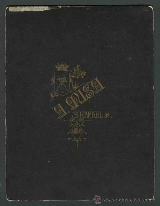 Fotografía antigua: Tres jóvenes caballeros españoles en la Habana. Otero y Colominas. Cuba. c. 1890 - Foto 4 - 32791944