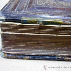 Fotografía antigua: ALBUM DE FOTOS, IDEAL CDV, CARTES DE VISITES, PIEL, 25 PAGINAS, 1867, A RESTAURAR. Lote 34011159