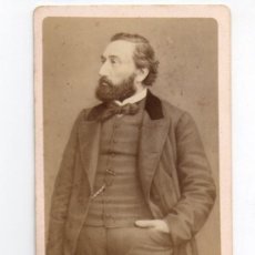 Fotografía antigua: GAMBETTA, FOTO: NEURDEIN, PARÍS. 1860'S.. Lote 35007370