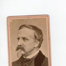Fotografía antigua: HENRI DE ORLEANS, EL DUQUE DE AUMALE, 1860'S. SIN DATOS DEL FOTÓGRAFO. Lote 35063124