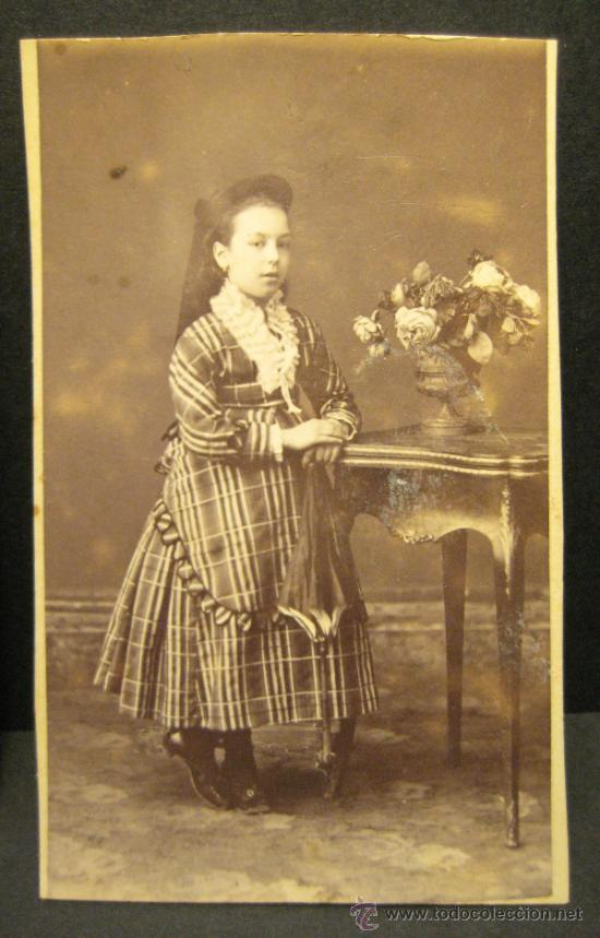 Fotografía antigua: 6 C.V. RETRATOS INFANTILES. SIGLO XIX. FOTOGRAFO NAPOLEON. BARCELONA - Foto 7 - 36784658
