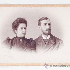 Fotografía antigua - FOTOGRAFIA EN BLANCO Y NEGRO DE BUSTOS DE PAREJA - ALBERTO KERN FOTOGRAFO - 37471615