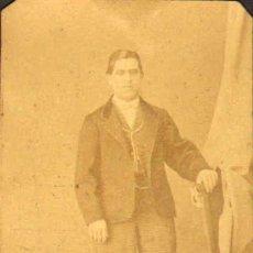 Fotografía antigua: CARTE DE VISITE. FOTÓGRAFO M. FERNANDO Y ANAÏS NAPOLEON (BARCELONA). 6 X 10 CM. CA. 1860-1870. . Lote 37684254