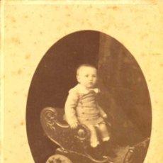 Fotografía antigua: CARTA ALBUM / CABINET. FOTÓGRAFO: NAPOLEON É HIJO. 11 X 15 CM.CA.1860-80 . Lote 37705064