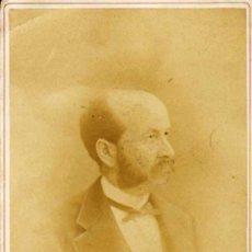 Fotografía antigua: CARTA ALBUM / CABINET. FOTÓGRAFO:B.A. LINDGREN (LUND SWEDISH-SUECIA).EDUART LIDFORSS 1878 11X15 CM. . Lote 37724545