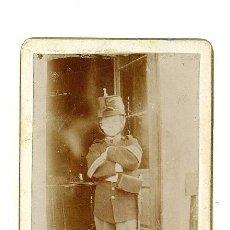 Fotografía antigua: CDV . ALEJANDRO BARRERA VALLÉS,DISFRAZ. 1860-1870 . Lote 38513540