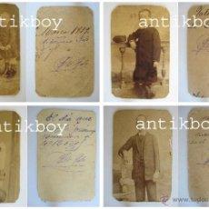 Fotografía antigua: FOTOGRAFIAS ANTI FASCISTA 1879 -1891 ELO EDO TORREJÓN, CORONEL EJERCITO MILITAR FOTOS FOTO . Lote 39358747