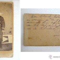 Fotografía antigua: FOTO ANTIGUA CARTE DE VISITE CIRCA 1870 ANTICARLISTA VICENTE EDO Y MIRALLES GUERRA CARLISTA UNIFORME. Lote 39359719