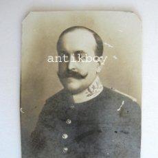 Fotografía antigua: FOTOGRAFIA 1913 ENRIQUE EDO TORREJON TENIENTE CORONEL DEL ESTADO MAYOR DEL EJERCITO INFANTERIA. Lote 39464278