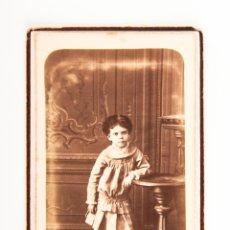 Fotografía antigua - FOTOGRAFIA DE BUSTO DE JOVEN, EN BLANCO Y NEGRO, FOTOGRAFIA DE E. CARRERAS DE BARCELONA - 39832977