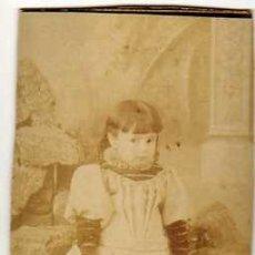 Fotografía antigua: CARTA DE VISITA. FONT Y CAMPMANY. BARCELONA. Lote 43568484