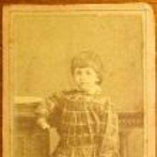 Fotografía antigua: BONITA FOTOGRAFIA DE UNA NIÑA DE CARTAGENA VALERO HERMANOS MURCIA. Lote 46028403