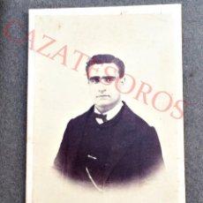 Fotografía antigua: FOTO DE UN SEÑOR - FINALES DE SIGLO 19 - VALENCIA CDV. Lote 46417361