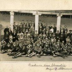 Fotografía antigua: ANSEDE Y JUANES 1930: LICEO SALMANTINO. Lote 47239903