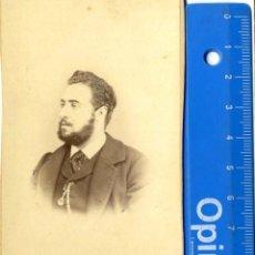 Fotografía antigua: MADRID, ALICANTE CATRAL BONITA CDV FOTOG GONZALO LANGA C/ FUENCARRAL 2 . Lote 49632038