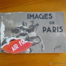 Fotografía antigua: IMAGENES DE PARIS - POSTALES DE MEDIADOS DEL SIGLO XX. Lote 50542717