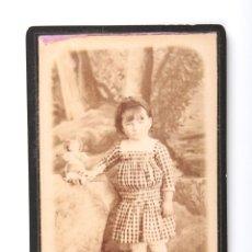 Fotografía antigua: ANTIGUA CARTA DE VISITA FOTOGRAFIA GRACIENSE SOLER NIÑA. Lote 54786949