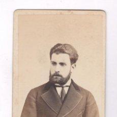 Fotografía antigua: MIGUEL SANMARTÍ Y ROVÉS, FOTO: LARAUZA, BARCELONA. CDV. Lote 56735412