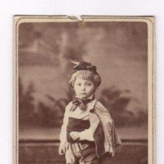 Fotografía antigua: MIGUEL SANMARTÍ CASANOVAS, FOTO: NAPOLEÓN, BARCELONA. CDV. Lote 56736759