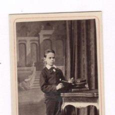 Fotografía antigua: RETRATO DE MIGUEL SANMARTÍ, FOTO: NAPOLEÓN, BARCELONA. CDV. Lote 56892415
