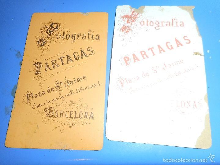 Fotografía antigua: antigua fotografia partagas no se albuminia, ferrotipo o otros - Foto 4 - 58454973