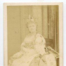 Fotografía antigua: HORTENSE SCHNEIDER, ROL DE LA GRANDE DUCHESSE DU GEROLSTEIN, OFFENBACH, 1867 OPERA, DISDERI. Lote 60128775