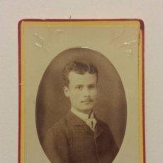 Fotografía antigua: CARTA DE VISITA FOTOGRAFIA DE J.G. AYOLA DE GRANADA. Lote 62780160