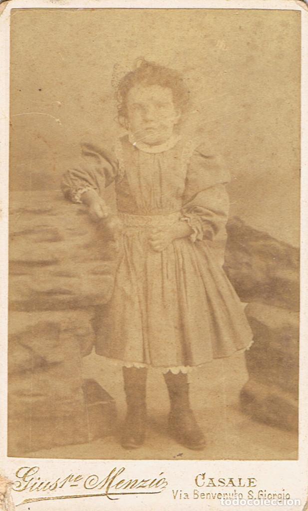 Foto Cv Retrato De Nina Ca 1890 95 Fotgiu