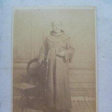 Fotografía antigua: CDV DE MONJE CAPUCHINO , MISIONERO ESPAÑOL DEL SIGLO XIX. DE WOOD, MANILA . FILIPINAS. Lote 66013362