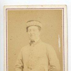 Fotografía antigua: LOUIS-HYACINTHE DUFLOST ACTOR Y CANTANTE THÉÂTRE DU PALAIS-ROYAL PARIS C. 1870 NUMA FILS PHOTOGRAPHE. Lote 66537222