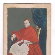 Fotografía antigua: RETRATO ILUMINADO DEL CURA BONAPARTE, 1860'S. VER REVERSO. Lote 67375809