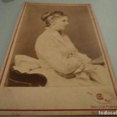 Fotografía antigua: CARTA DE PRESENTACION FOTOGRAFO HEINR. GRAF, PH BERLIN 17 X 10 CM CARTON PRINZEFS VON BAYERN. Lote 69736705