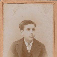 Fotografía antigua: FOTOGRAFÍA ANTIGUA, CARTA DE VISITA. RETRATO DE JOSÉ ROVIRA, BARCELONA. FINALES SIGLO XIX.. Lote 69866577