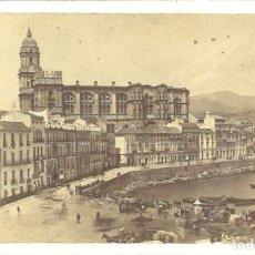 Fotografía antigua: MÁLAGA. VISTA DE GENERAL DE LA CATEDRAL. FOTOGRAFÍA COSMOPOLITA. Lote 72898263