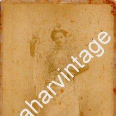 Fotografía antigua: JEREZ DE LA FRONTERA, SIGLO XIX, PRECIOSA CDV DE CALVACHE, 105X165MM. Lote 75479167
