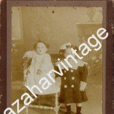 Fotografía antigua: JEREZ DE LA FRONTERA, SIGLO XIX, PRECIOSA CDV DE CALVACHE, 115X168MM. Lote 75479295