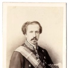 Fotografía antigua: CDV FRANCISCO DE ASIS DE BORBON REY CONSORTE DE LA REINA ISABEL II - NEURDEIN. Lote 81257996
