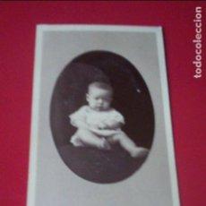 Fotografía antigua: CDV BEBE CARTE VISITE FOTO S. FARACH ALICANTE C.1865 XIX FAMILIA CASTILLA- ALONSO HIDALGO DE AULLO. Lote 82291148