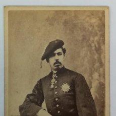 Fotografía antigua: CDV CARLOS VII - DON CARLOS DE BORBÓN - CARLISMO - PRETENDIENTE REY CARLISTA. Lote 87573276