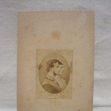 Fotografía antigua: FOTO RECUERDO DE LA BODA DE ALFONSO XII Y MARÍA DE LAS MERCEDES DE ORLEANS, 23 ENERO 1878. Lote 92011595