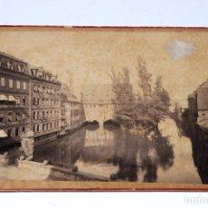 Fotografía antigua: ANTIGUA FOTOGRAFÍA CARTA DE VISITA: NÜRNBERG. Lote 95876831